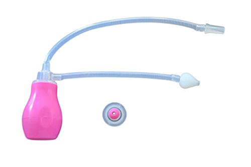 Roo Threads Kiddie and Infant Nasal Aspirators, Pink