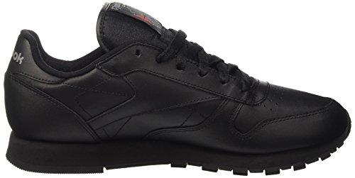 Reebok Classic Leather, Women's Training Running Shoes Black (Intense-black 0)