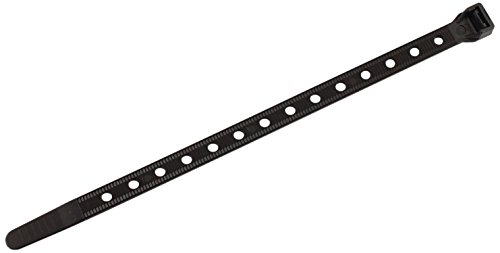 Southwire CT1450100 14-Inch Heavy Duty Cable Ties, Strong 50 lb Test, Universal Easy Zip, Black (Pack of 100)