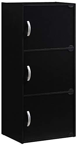 Hodedah Shleves Enclosed Storage Cabinet product image
