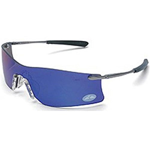 (MCR Safety Rubicon Eyewear, Emerald Mirror Lens (3 Pack))