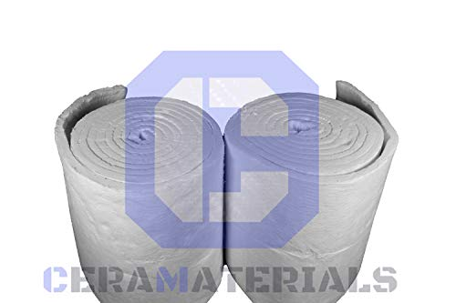 Ceramic Fiber Blanket by CeraMaterials-Insulation 8# 2300F 1