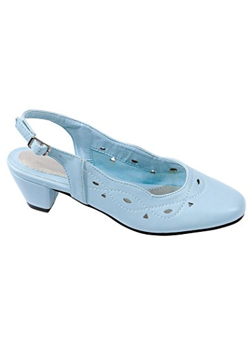 Womens Adult Angel Steps Gorgeous Light Blue PAr9r110