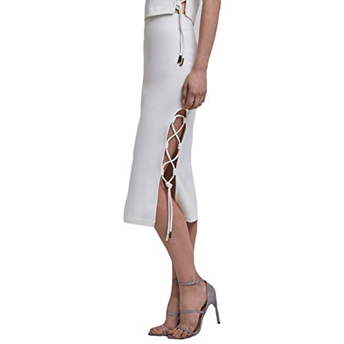 Finders Keepers Womens Weston Skirt White Extra Small (White Weston)