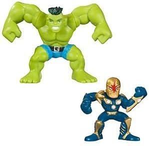 Hulk and Nova Marvel Super Hero Squad