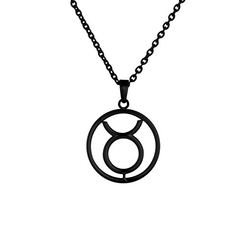 zodiac-sign-taurus-round-pendant-necklace-in-316l-stainless-steel-black-color