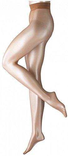 Falke Womens Shelina 12 Denier Ultra-Transparent Shimmer Tights - Sun New - Medium