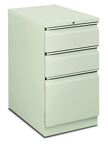 HON H18723R.L.Q Flagship Mobile Pedestal with 2 Box/1 File Drawer and Radius Pull, 15