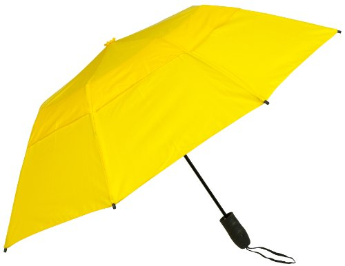Haas-Jordan by Westcott The Urbanite Golf Umbrella Yellow 44-Inch