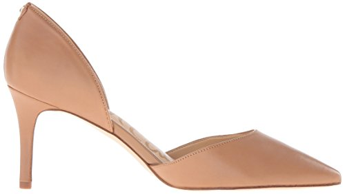 Sam Edelman Damen Telsa Pumps In Pelle Color Caramello Dorato