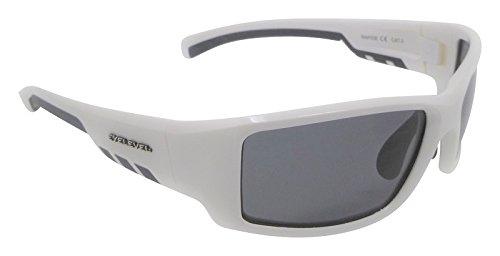 19d89ecce9b Rapide White Sunglasses Polarized Grey Cat-3 UV400 Lenses  Amazon.co ...