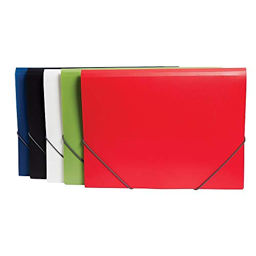 Staples Tri-Fold Pocket Folder, Assorted colors and Designs