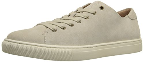 Ralph Lauren Men's Jermain Fashion Sneaker, Cream, 8.5 D US
