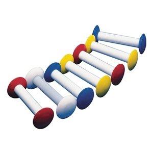 Yellow Bel-Art Circulus Teflon Magnetic Stirring Bar; 54mm Length F37172-0002