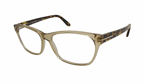 Tom Ford Rx Eyeglasses - TF5405 Clear Brown / Frame: Clear Brown Lens: demo - Ford For Glasses Tom Reading Women