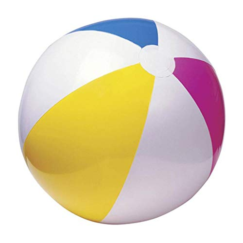 SUKRAGRAHA Inflatable 16 inch inflated Diameter Paradise Panel Colorful Beach Ball