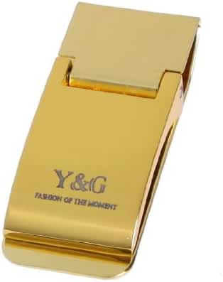 YQA03B Mens Jewelry Stainless Steel Money Clip Fitted Design Gifts By Y&G