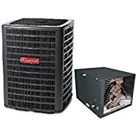 Goodman 2.5 Ton 14 SEER Air Conditioner with Horizontal Coil 21 Tall GSX140301CHPF3642C6 - With 3/8x3/4x25 lineset