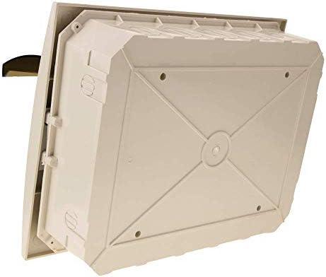 BeMatik - Caja de distribución eléctrica de 12 módulos de empotrar ...