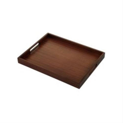 Richmond Compact Butler Tray - Dark Wood Corby of Windsor