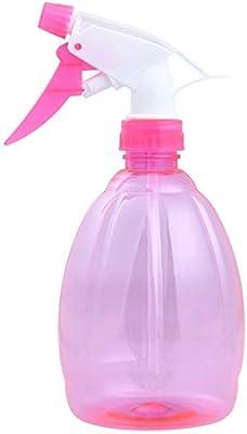 Pulverizador de mano para plantas de jardín, botella de spray vacía fina ideal para limpiar productos de jardín con tratamientos de belleza, rosa: Amazon.es: Jardín
