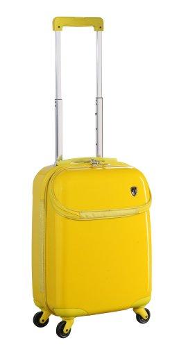 Heys USA Luggage Ez Comp 21 Inch Hard Side Carry On Bag, Yellow, One Size