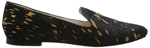 Cole Haan Deacon holgazán Ballet Flat Black Graphic Haircalf