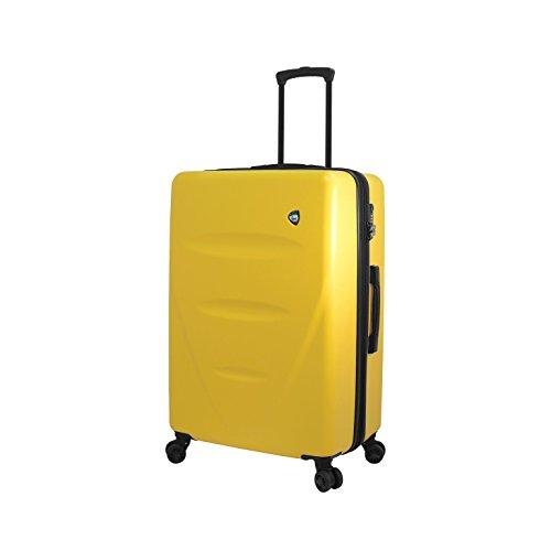 Mia Toro M1304-27in-ylw Italy Fassa Hardside 27 Inch Spinner Luggage, Yellow