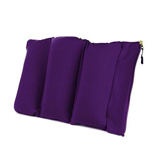 Joy Mangano FleXassage Hands-Free Body Massager Pillow Black