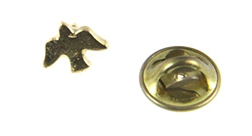 6030165 Holy Spirit Descending Dove Lapel Pin Brooch Tie Tack Christian Jewelry Holy Ghost Baptism Gifts of the Spirit