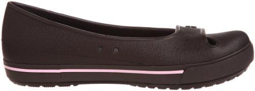 Crocs Crocband II.5 - Bailarinas de material sintético para mujer Marrone (Espresso/Bubblegum)