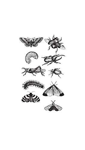 Insect Butterfly Temporary Tattoo Sticker Waterproof Party Favor Decorations Fake Tattoos 10.5X6cm,As Picture