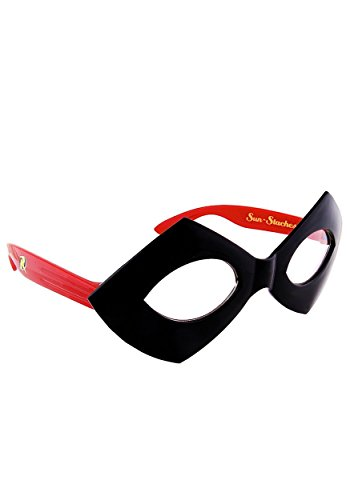 Sun-Staches Costume Sunglasses Robin Mask Party Favors UV400 ()