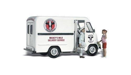 - Woodland Scenics HO Scale AutoScenes Mickey's Milk Delivery