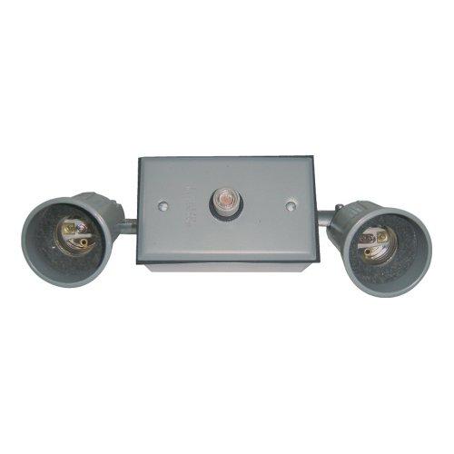 Sigma Electric 16784 Round Floodlight Kit,  Gray
