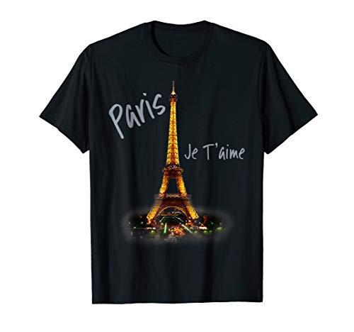 Eiffel Tower Paris Shirt Vintage I Love Paris France - Eiffel Tower France