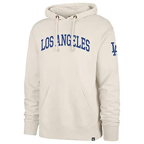 '47 Brand Atlas Hoody - MLB Los Angeles Dodgers Beige - L
