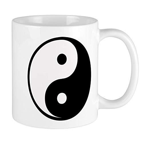 CafePress Yin Yang Symbol Mug Unique Coffee Mug, Coffee Cup