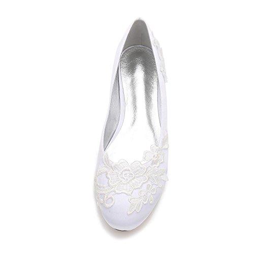 zapatos Corte Redonda Boda F5049 De Cerrado L Punta 16 Las La Purple Vestido Mujeres Flores Clásico Pie Dedo Del yc Zapatos UcAUWTgZ