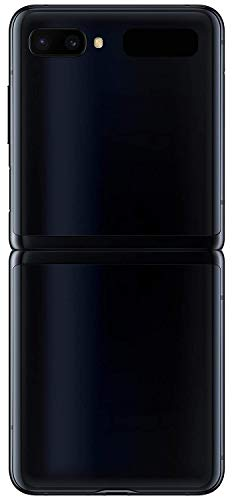 "Samsung Galaxy Z Flip (256GB, 8GB) 6.7"" Foldable AMOLED, Snapdragon 855+, AT&T Unlocked GSM 4G LTE (T-Mobile, Metro, Straight Talk) F700U/DS (Mirror Black)"