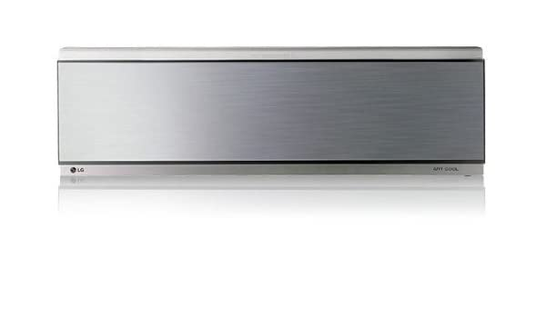 LG C18AWR Sistema split Plata - Aire acondicionado (1640 W, 1770 W, 220-240V, 50Hz, 8.3A, Montar en la pared, 14,1 kg, 1170 x 200 x 299 mm): Amazon.es: ...