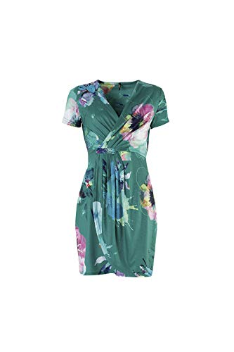 Okaina Para verde 10 Casual Mujer Verde Smash Vestido S6twd8q8