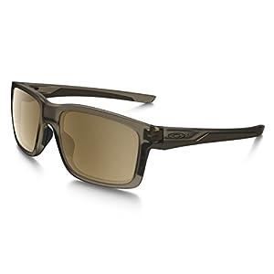 Oakley Mainlink Polarized Sunglasses, Matte Sepia/Tungsten Iridium, One Size