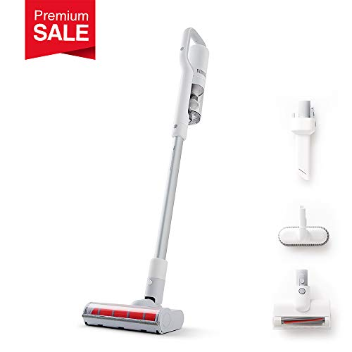 ROIDMI (U.S.) Premium Portable Cordless Vacuum Cleaner Handheld (Extra Value Set, Powerful & Low Noise, Lightweight 2.7 lbs) – Versatile Smart Stick Vacuum Multi-Function Cordless Dust Catcher