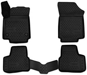 Element Exp Nlc 3d 51 43 210k Passgenaue Premium Antirutsch Gummimatten Fußmatten Für Vw Up Skoda Citigo Seat Mii Jahr 11 20 Schwarz Passform Auto