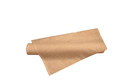 LA Linen 40-Inch Wide  Natural Burlap , 10 Yard (Burlap Cloth)