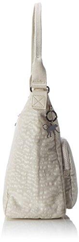 Kipling Tasmo - Shoppers y bolsos de hombro Mujer Blanco (White Garden)