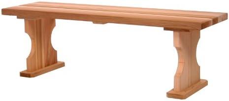 All Things Cedar BB45 Backless Bench