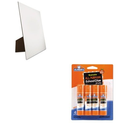 KITEPIE542GEO26880 - Value Kit - Geographics Easel Backed Board (GEO26880) and Elmer's Washable All Purpose School Glue Sticks (EPIE542) All Purpose Easel
