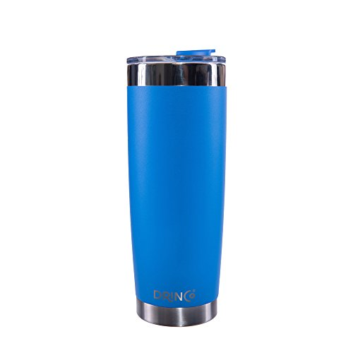 Drinco - Stainless Steel Tumbler | Double Walled Vacuum Insulated Mug With Spill Proof Lid For Hot & Cold Drinks | Blue | Perfect for Hiking, Camping & Traveling | - Royal Mug Blue